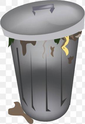 Trash Can - Rubbish Bins & Waste Paper Baskets Garbage Truck Waste Management Clip Art PNG