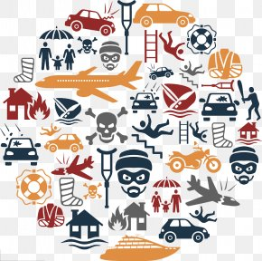 There Is Always An Accident In Life - Vehicle Insurance Accident Life Insurance Icon PNG