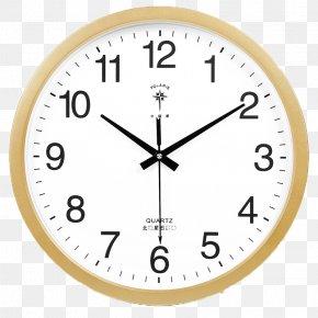 Fashion Simple Clock - Quartz Clock Table Alarm Clock Radio Clock PNG
