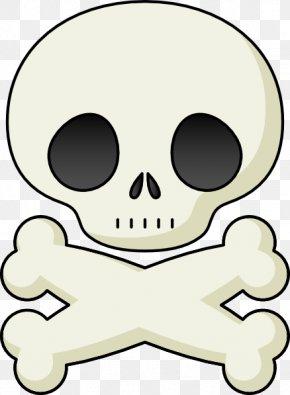 Skulls Cliparts - Skull And Crossbones Human Skull Symbolism Clip Art PNG