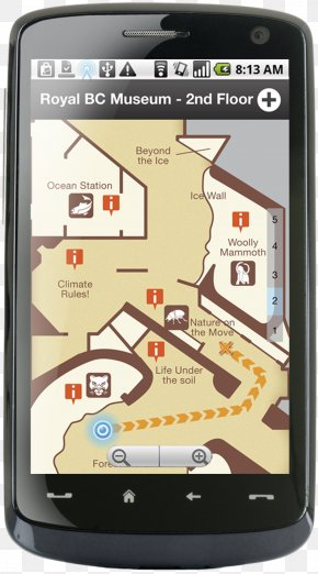 Smartphone - Smartphone Royal British Columbia Museum Feature Phone Mobile Phones Indoor Positioning System PNG