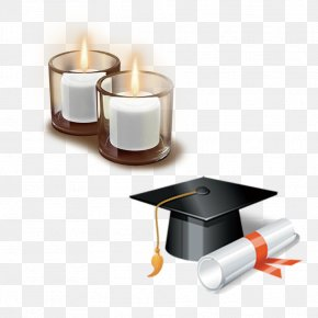 Teacher's Day Material - Square Academic Cap Graduation Ceremony Hat Clip Art PNG