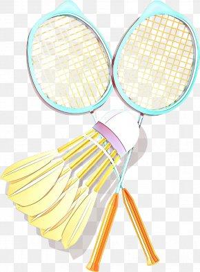 Speed Badminton Tennis Racket - Badminton Cartoon PNG