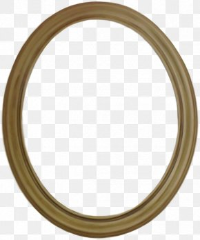 Oval High-Quality - Brass Material Circle Pattern PNG