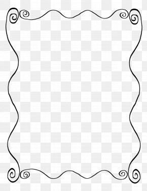 Line Frame - Line Art Picture Frames Drawing PNG
