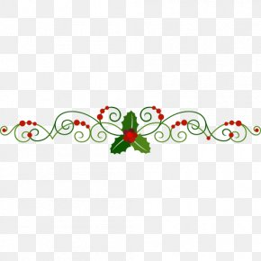 Christmas Elements - Christmas Decoration Euclidean Vector Common Holly PNG