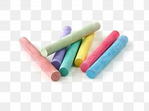 Chalk - Sidewalk Chalk Color Drawing Stock Photography PNG