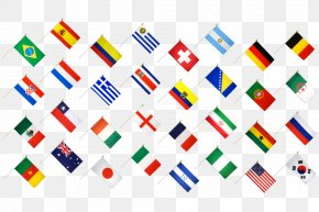 Flags Of The World - 2014 FIFA World Cup 2018 World Cup Brazil National Football Team Sports Russia 2018 FIFA World Cup Bid PNG