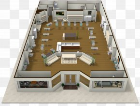 Real Estate Floor Plan - Facade Architecture Floor Plan House PNG