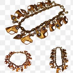 Jewellery - Charm Bracelet Jewellery Necklace Gold PNG
