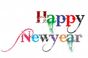 Happy New Year - Public Holiday New Year's Day Clip Art PNG