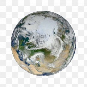 Planets - Earth The Blue Marble OSIRIS-REx Arctic Suomi NPP PNG