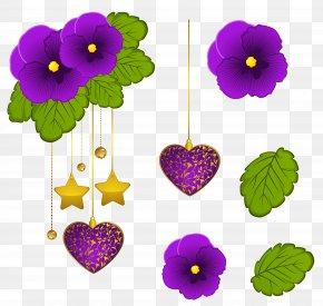 Decorative Element Cliparts - Violet Clip Art PNG