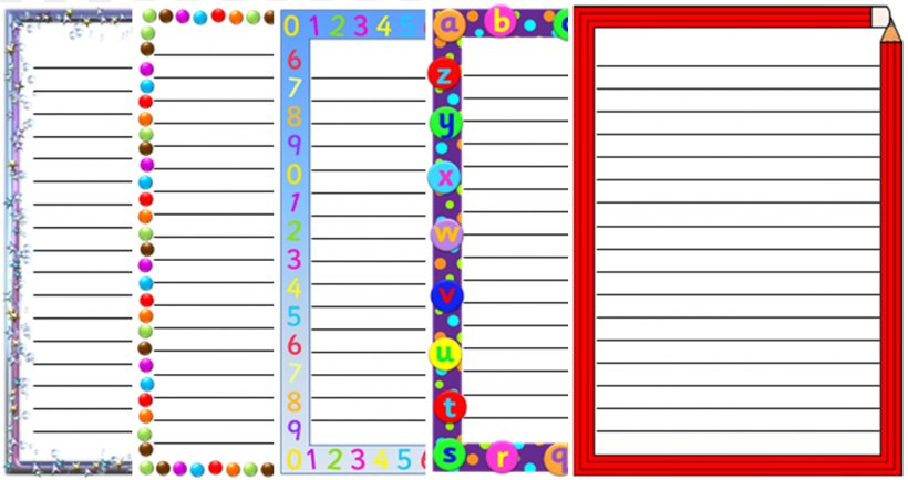 Paper Border Smiley Clip Art, PNG, 1058x561px, Paper, Area, Border, Letter, Material Download Free
