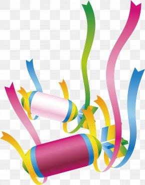 Holiday Ribbon - Paper Ribbon Raster Graphics PNG