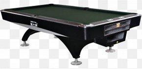 Black High-end Billiard Table Material - Pool Billiard Table Billiards PNG