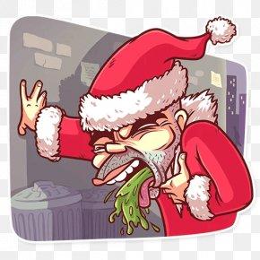 Santa Claus - New Year Santa Claus Bad Santa Christmas Day Text PNG