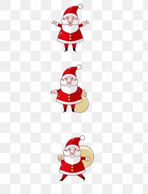 Santa Claus Creative - Santa Claus Pxe8re Noxebl Christmas Ornament Reindeer Illustration PNG
