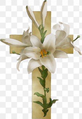 Floral Design Easter Lily Flower Borders And Frames Clip Art PNG