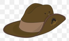 Hat - Australian And New Zealand Army Corps ANZAC Cove Anzac Day Hat Clip Art PNG