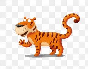 Cartoon Lion - Tiger Lion Drawing Big Cat Illustration PNG