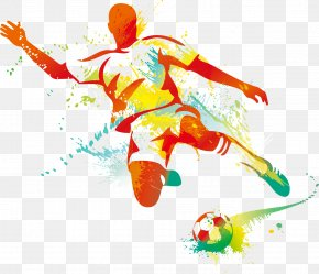 Soccer Player - Football Player Kickball PNG