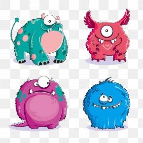 Cartoon Monster - Monster Euclidean Vector Royalty-free Illustration PNG
