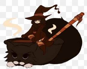 Witch - Cat Mammal Carnivora Animal PNG