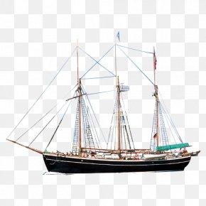 Ancient Sailing - Sailing Ship Barque Mast Sailboat PNG
