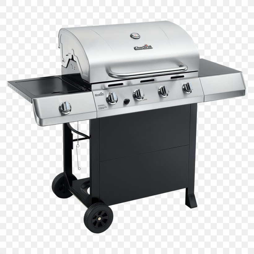 Barbecue Grilling Char-Broil Gas2Coal Hybrid Grill Food, PNG, 1000x1000px, Barbecue, Brenner, Charbroil, Charbroil Classic 463874717, Charbroil Performance 463376017 Download Free