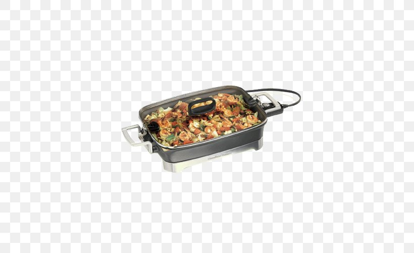Barbecue Frying Pan Hamilton Beach Brands Slow Cookers Griddle, PNG, 500x500px, Barbecue, Biscuits, Contact Grill, Cooker, Cooking Download Free