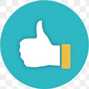 Logo Finger - Turquoise Aqua Font Hand Symbol PNG