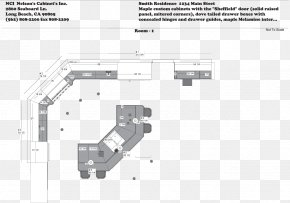 Plan View - Kitchen Drawing Process Layout Floor Plan PNG