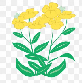 Vector Floral Flowers - Calendar Flower PNG