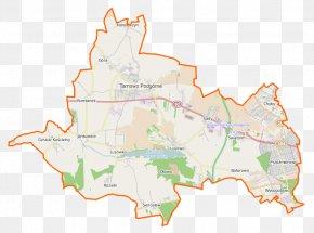 Map - Baranowo, Gmina Tarnowo Podgórne Lusowo, Greater Poland Voivodeship Jankowice, Greater Poland Voivodeship Sady, Poznań County PNG