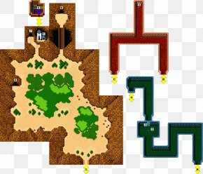 Map - Crystalis Nintendo Entertainment System Video Game Final Fantasy III Game Boy PNG