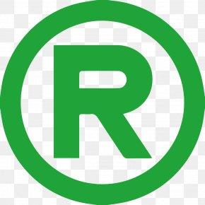 Letter R - Registered Trademark Symbol Copyright Patent PNG