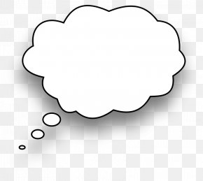 Thought Bubble Images - Speech Balloon Thought Bubble Clip Art PNG