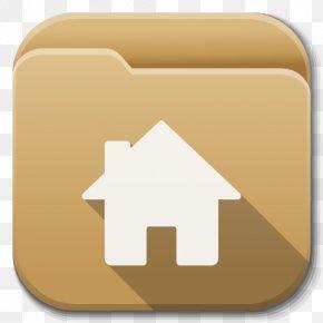 Apps Folder Home - Square Font PNG