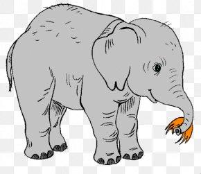 Cute Elephant - Elephant Free Content Clip Art PNG