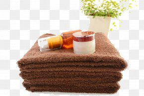 The Essential Oil On The Towel HD Buckle Material - Towel Spa Essential Oil PNG
