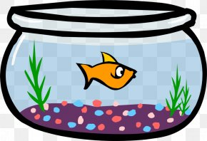 Fish Bowl Pics - Club Penguin Igloo Fish Clip Art PNG