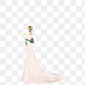 Vector Elements Wedding Wedding - Gown Shoulder Pattern PNG