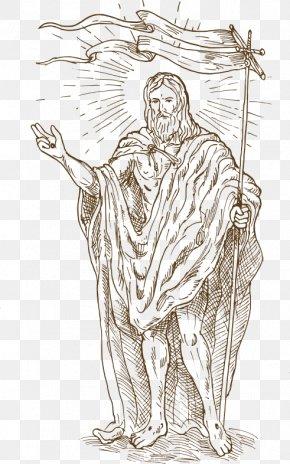 Jesus,Christian - Resurrection Of Jesus Illustration PNG