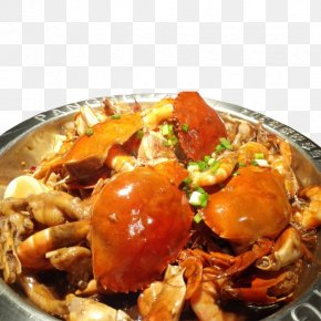 Delicious Meat Crab Pot - Chilli Crab Seafood Gumbo Crab Meat PNG