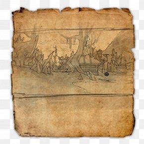 Treasure - The Elder Scrolls Online The Elder Scrolls V: Skyrim Treasure Map PNG
