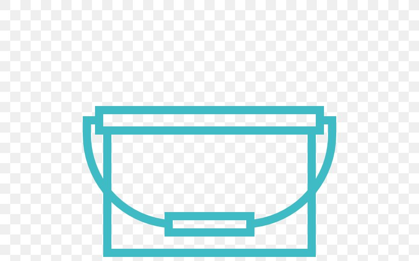 Bucket Illustration Clip Art, PNG, 512x512px, Bucket, Aqua, Area, Blue, Cleaning Download Free