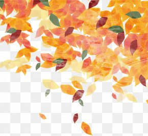 Hand-painted Leaves - Leaf Autumn Pattern PNG