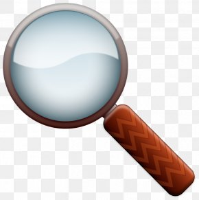 Cartoon Magnifying Glass - Magnifying Glass Clip Art PNG