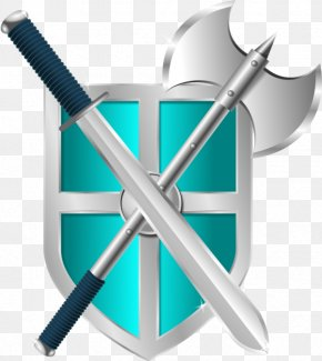 Battle Axe Cliparts - Sword Shield Clip Art PNG
